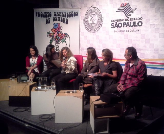 Mesas de debate do SP TransVisão. Foto: Divulgação.