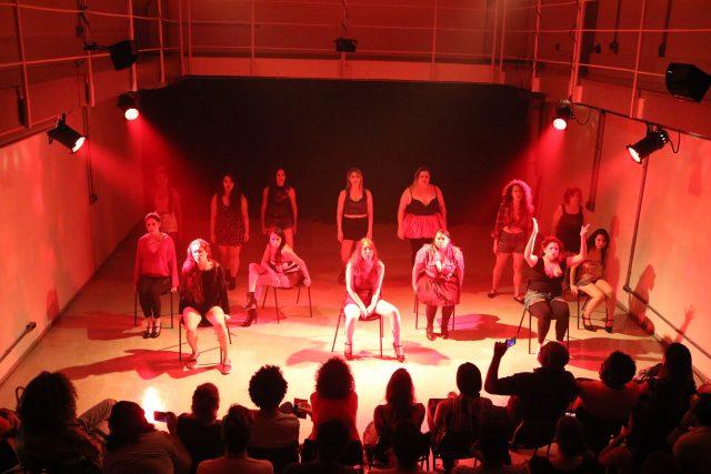 Curso de Atuação para teatro musical. Foto: Bruno Galvincio/SP Escola de Teatro