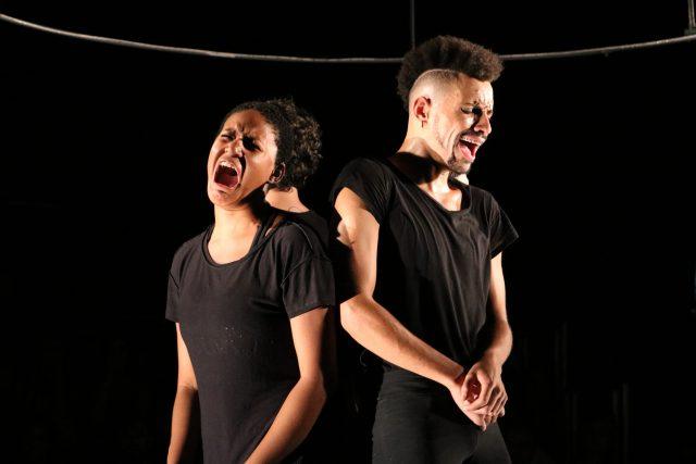 Experimento. Foto: Bruno Galvincio/SP Escola de Teatro