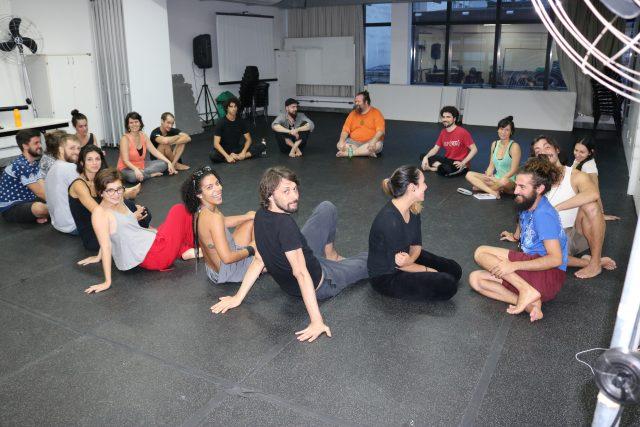 Curso de Teatro Ritualístico. Foto: Bruno Galvincio/SP Escola de Teatro