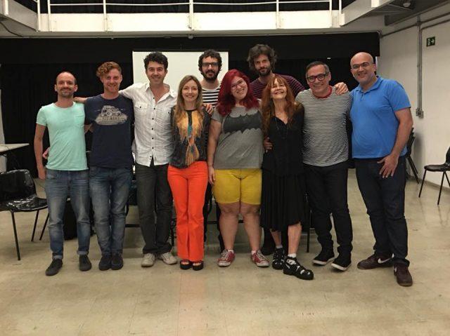 O corpo discente da Escola Livre de Audiovisual (ELA) se reuniu durante o ano para preparar as ações da instituição para 2018. Foto: SP Escola de Teatro