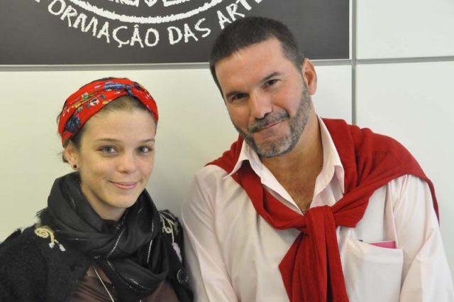 Eugenia Alvarez e Omar Valiño