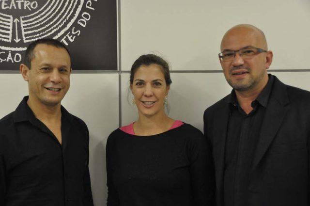 Joaquim Gama, Diana Lopez e Raul Teixeira