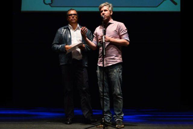 Alessandro Toller e Newton Moreno - Prêmio APCA 2014