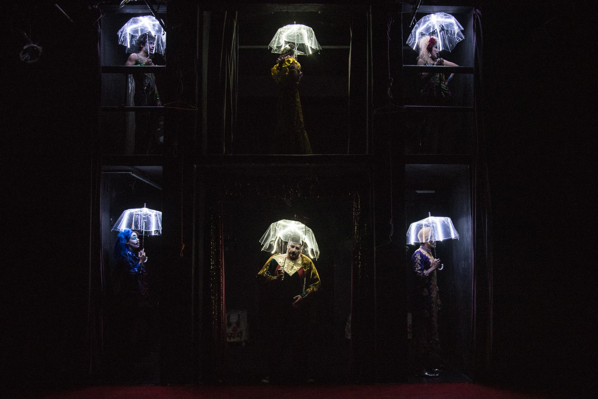 Espetáculo Cabaret Fucô, por Bob Sousa
