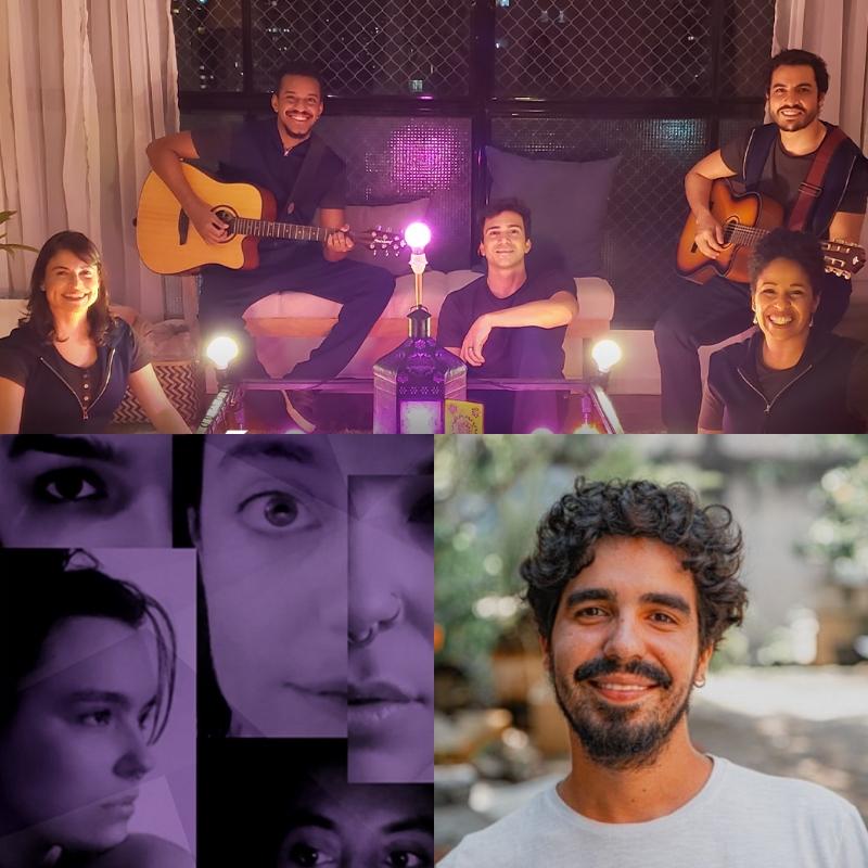 Diálogos (São Paulo), Exóticos (Mato Grosso) e Elas (São Paulo) estão na Mostra Aldir Blanc na SP Escola de Teatro - Foto: Divulgação