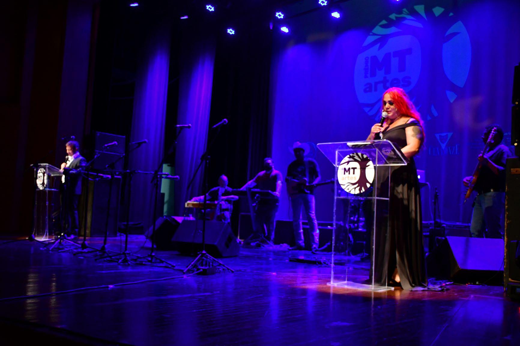 1º Prêmio MT Artes no Cine Teatro Cuiabá. Foto: Julio Rocha